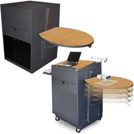 Marvel® - Lectern/Podium & Media Center Carts