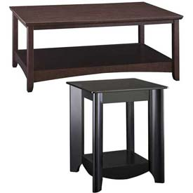 Bush® Buena Vista & Aero Coffee & End Tables