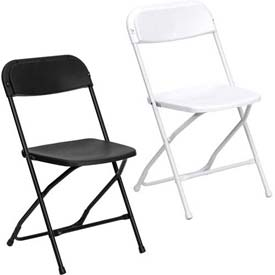 Indoor/Outdoor Plastic Folding Chairs