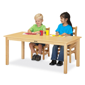 Jonti-Craft® - Rectanglar Multi Puprose Tables
