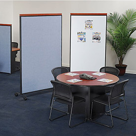 Interion® - Mobile Partition Room Dividers