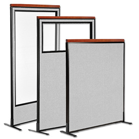 Interion® Deluxe Freestanding Room Dividers