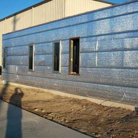 Reflective Insulation & Vapor Barrier