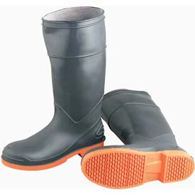 Men's PVC Plain Toe Protective Boots
