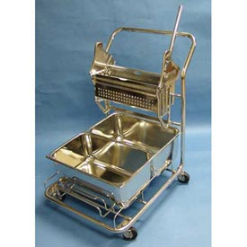 Geerpres® Stainless Steel Cleanroom Trolley