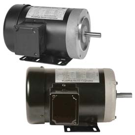 Worldwide Electric General Purpose Motors, Three Phase, TEFC, Fractional Motors
