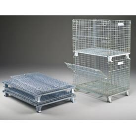 Folding Wire Containers