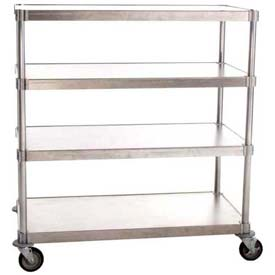 PVI - Aluminum Adjustable Mobile Shelving Units