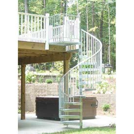 Spiral Staircase Kit  8 0Spiral Staircases   www globalindustrial ca. Outdoor Spiral Stairs Canada. Home Design Ideas