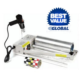 "Sealer Shrink Film with Sealer, Heat Gun &500' Shrink Film System for 24""W Film"