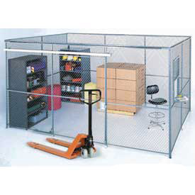 Wire Mesh Partition Security Rooms - Preconfigured