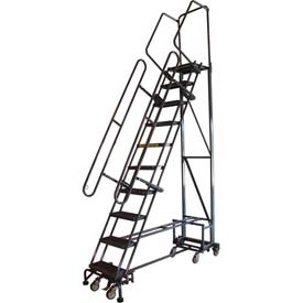 Navigator All-Directional Steel Safety Rolling Ladder