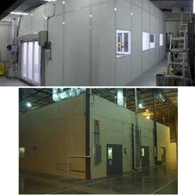 Ebtech Modular Cleanrooms