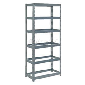 5' High Boltless Steel Shelving Without Decking
