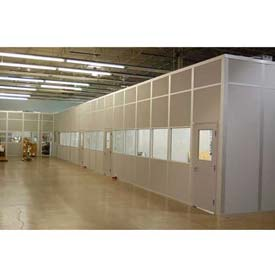 Ebtech Modular Inplant Offices - Steel Panel, Class A Fire & 28 STC Rated