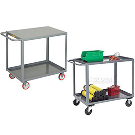 Steel Stock & Utility Carts - Welded