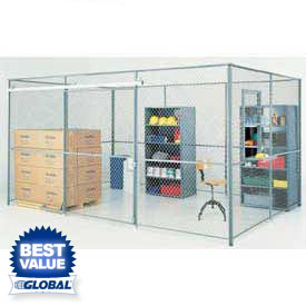 Wire Mesh Security Partitions - Design Your Own