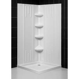 Dreamline™ Shower Base & Backwall Kits