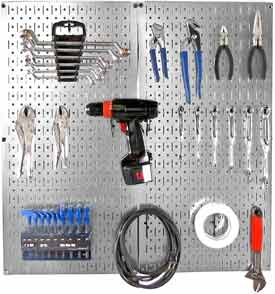 Wall Control-Pegboard Tool & Storage Kit