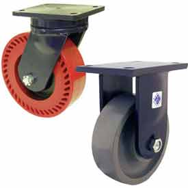 RWM 95 Series Heavy Duty Kingpinless™ Casters - up to 20,000 Lb. Capacity