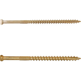 Finish Head Star Drive Wood Screws