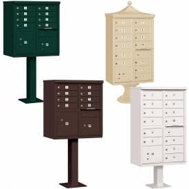 Salsbury Pedestal Mounted Cluster Mail Box Units