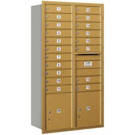 Salsbury 3700 Series 4C Horizontal Double Column Mailboxes, Rear Loading, Private Access