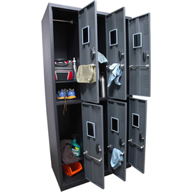 Homak Steel Assembled Lockers