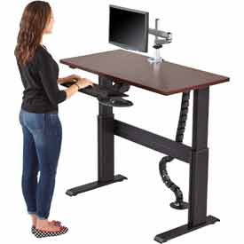 RightAngle™ - Sit to Stand Electric & Gas Height Adjustable Desk / Tables