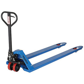 Wesco® Extra-Long Fork Pallet Jack Trucks