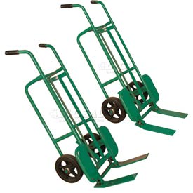 Wesco® Tilting & Folding Fork Hand Truck