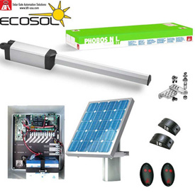 BFT® Solar Powered Ecosol Swing Gate Operators