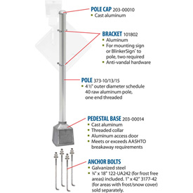 Tapco® Blinker Breakaway Pole Packages