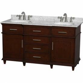 Double Floor Mount Vanity Sets W/Tops & Sinks