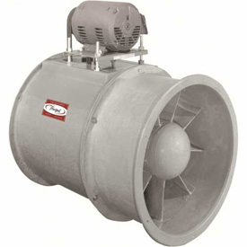 Fiberglass Belt Drive Duct Axial Fan
