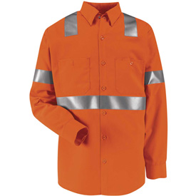 Red Kap®  Enhanced & Hi-Visibility Work Shirts