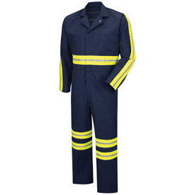 Red Kap® Enhanced Visibility Action Back Coverall