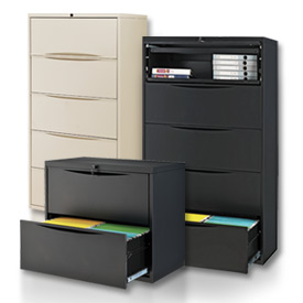 Interion™ - Premium Lateral File Cabinets