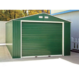 DuraMax Large Metal Garages With Roll-Up Door