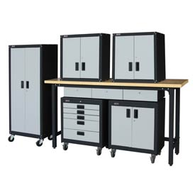 Homak Steel Garage Furniture