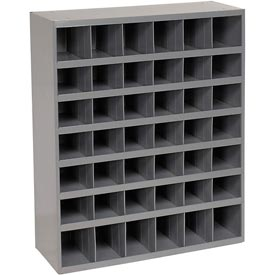 Durham Steel Storage Parts Bin Cabinet 360-95 Open Front - 42 Compartments