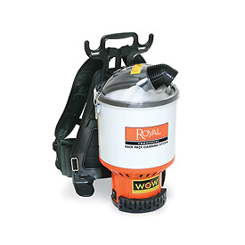 Royal Commercial Lightweight Backpack Vacuum