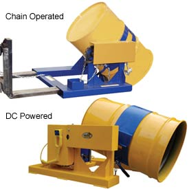 Forklift Truck Drum Carriers & Rotators