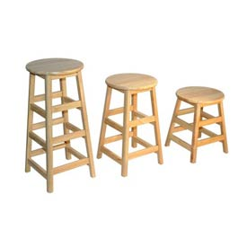 Allied -  Solid Hardwood Stools