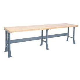 Extra Long Industrial Bench With 2-1/4
