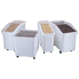 Rubbermaid® Plastic Ingredient Bin Trucks with Lids