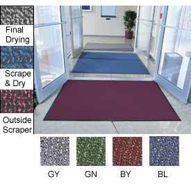"Entryway Mat Outside Scraper 36""W Full 60' Roll Burgundy"