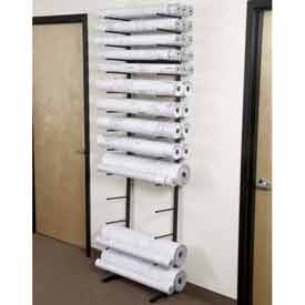 Vis-i-Rack™ High Capacity Blueprint Storage Racks