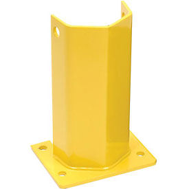 "Pallet Rack Frame Guard 5""W x 4""D x 12""H - Yellow"