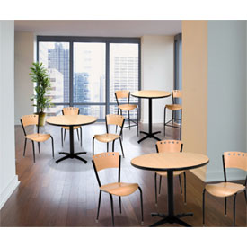 KFI - Lunchroom Pedestal Tables & Chairs